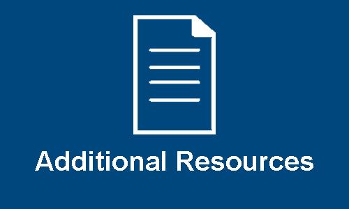 Additional Resources Header Button