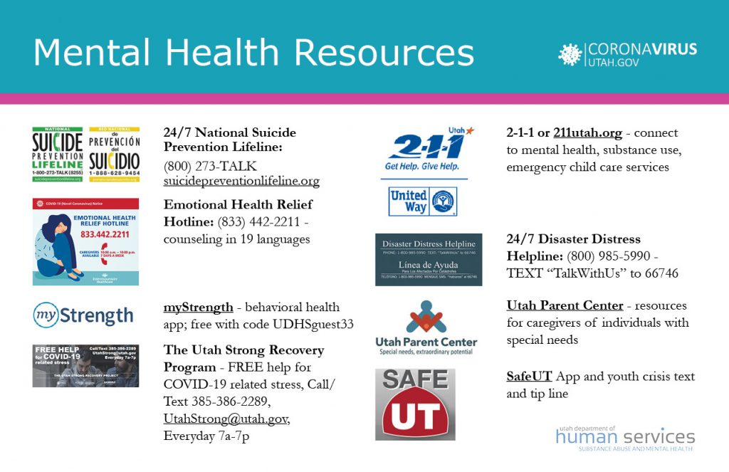 Mental Health Resources Image