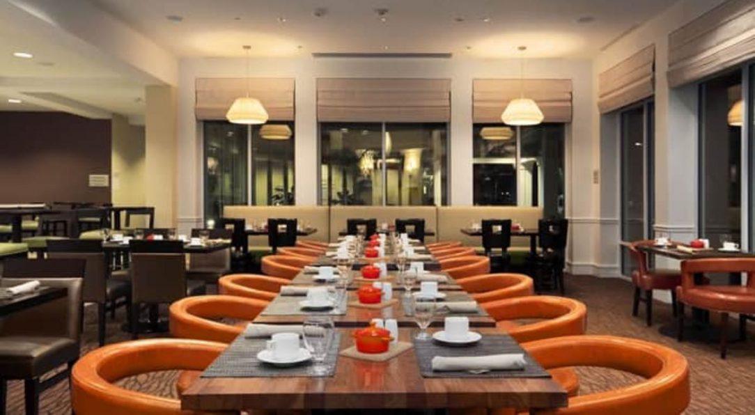 Empty restaurant