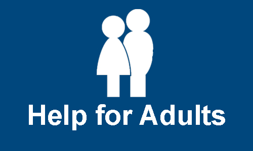 Help for Adults Section Header Button