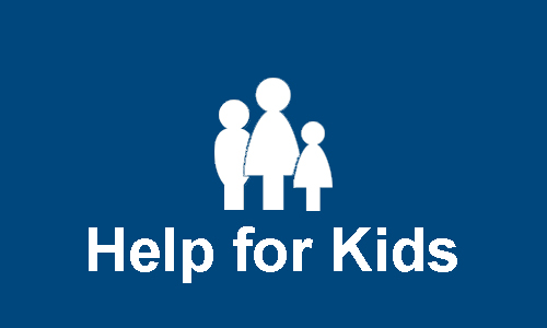 Help for Kids Section Header Button