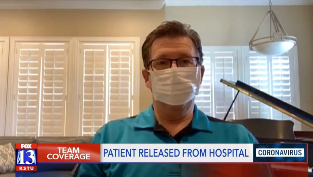 COVID-19 patient at home