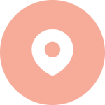 Graphic showing a pinpoint on a map