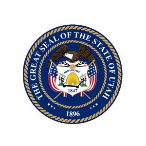 El gran sello del icono del estado de Utah