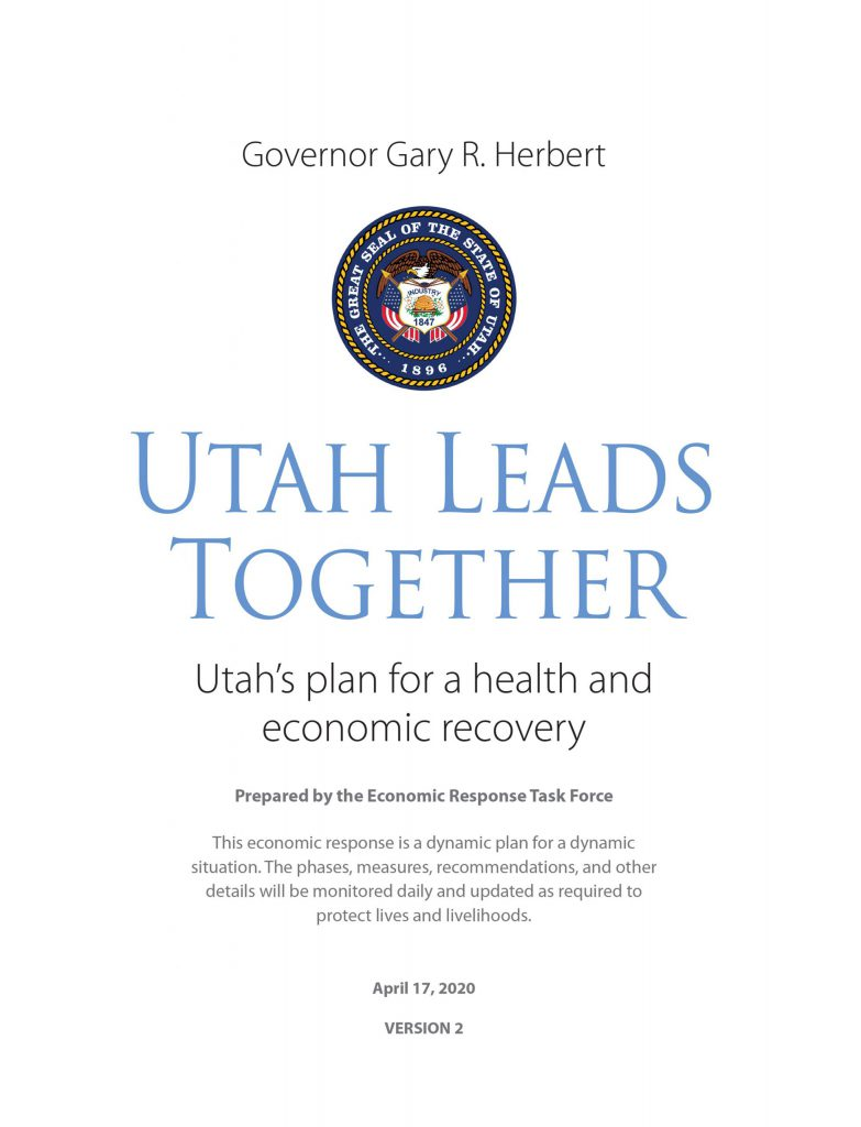 "Governor Gary R. Herbert ""Utah Leads Together"" Image"