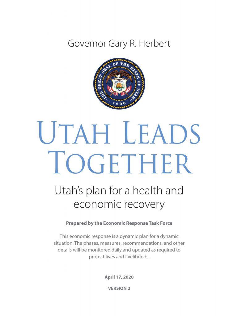"Governor Gary R. Herbert ""Utah Leads Together"" Image"