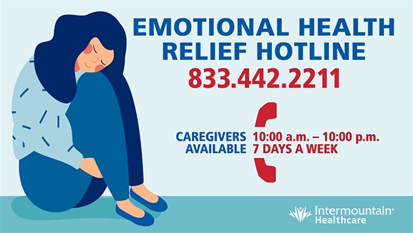 Emotional Health Hotline Image 833.422.2211