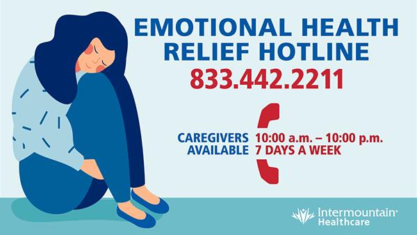 Emotional Health Hotline Image 833.422.2211