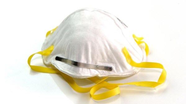 An N95 mask