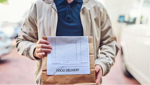 Takeout Food Image