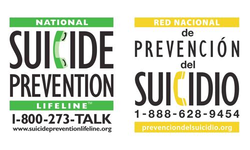 National Suicide Prevention Image 1.800.273.TALK